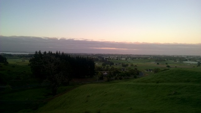 waikato by sunrise